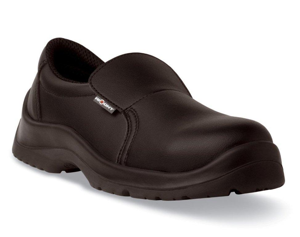 Aimont Aster Black Slip-On Safety Shoe S2 SRC